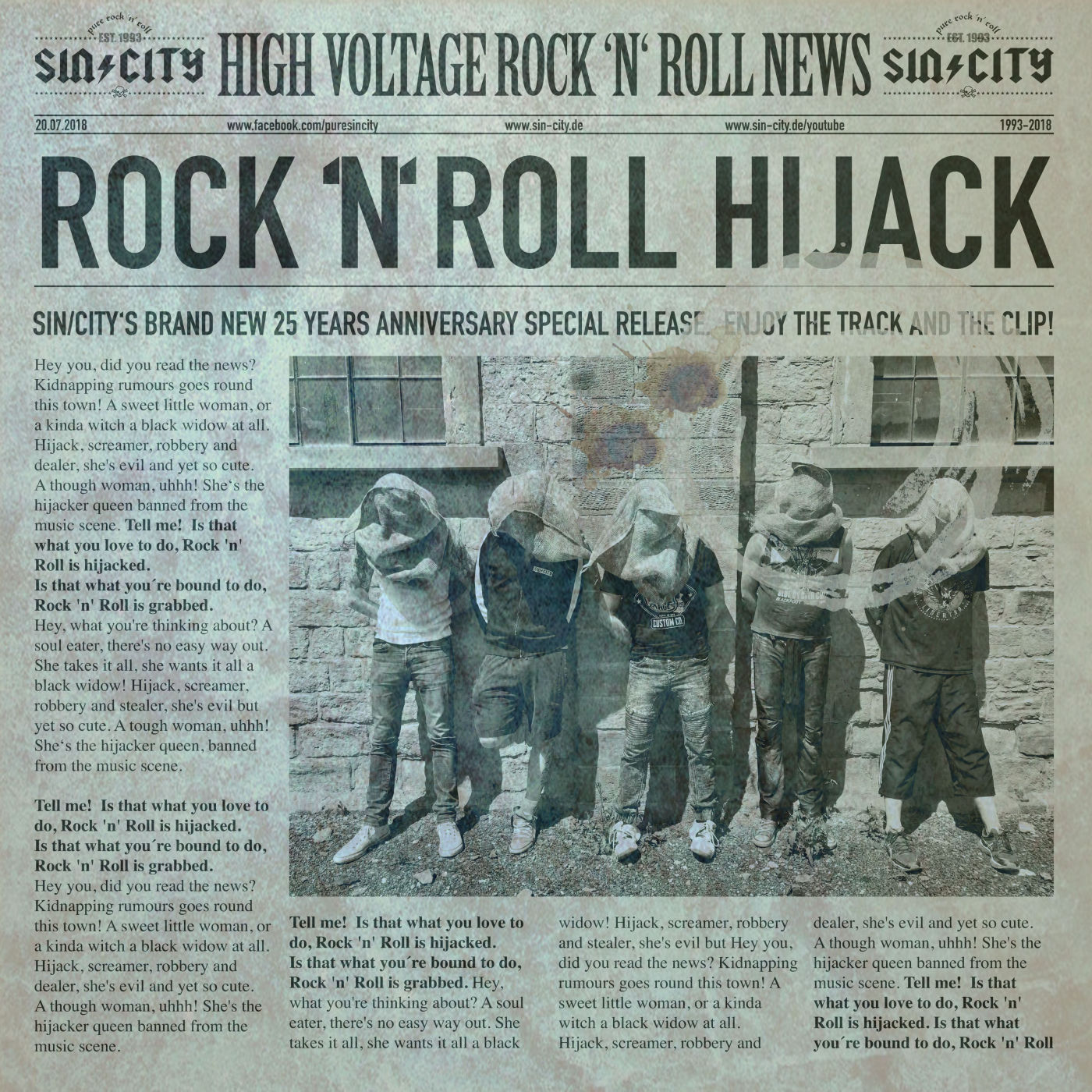 SIN/CITY Rock 'n' Roll Hijack