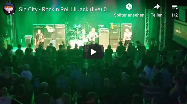 SIN/CITY ROCK 'N' ROLL HIJACK LIVE